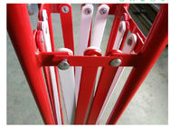 Powder Coated Expandable Safety Barriers Temporary Expandable Fence Barrier expanding safety barrier