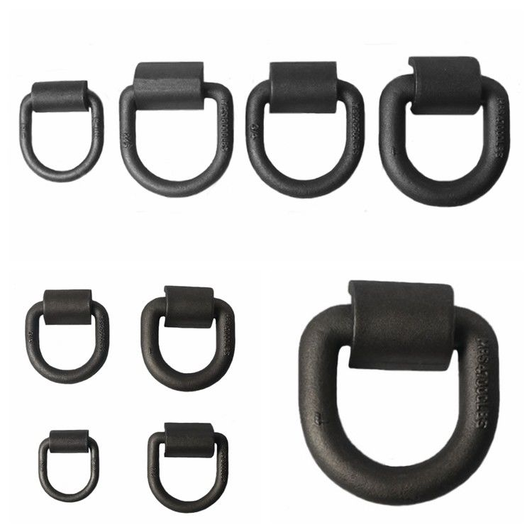 Customized Safety D Rings Steel Heavy Duty Weld Forged Mounting Buckle