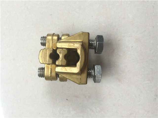 Die Casting Grounding And Earthing Products Copper Wire Clamp Earthing Clamp