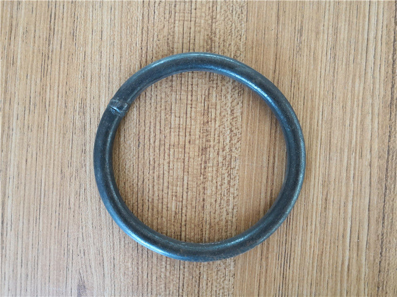 Black O Ring High Strength Welding Steel Material With 250 Mm Diameter